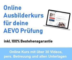 Online AEVO Ausbilderkurs