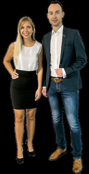 Jasmin und Simon Paar