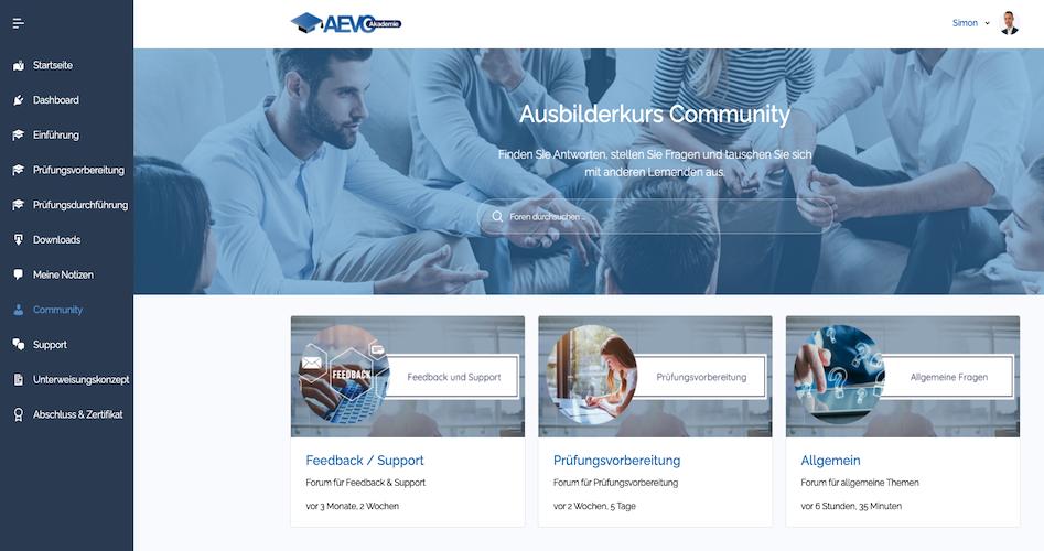 Screenshot Community Forum